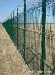 Profiled Welded Mesh Fencing Crime Prevention fencing