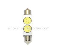 LED festoon light SV8.5 led dome bulbs high power led license plate bulb Led Festoon Bulb-2WHP