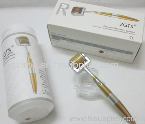 0.2-3.0mm mix size titanium microneedle roller zgts derma roller