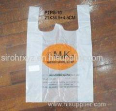 Eco friendly hotel amenities, cornstarch sanitary bag, disposable, biodegradable for hotel