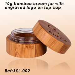 bamboo cream jar lids