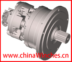 Hydraulic motor GM05 GM1 GM2 GM3 GM4 GM5 + R13 R20 R21 R24 R28 WR10 WR20 shaft or flange drive Sai GM Gearbox
