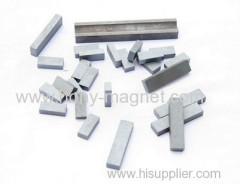 Permanent bonded block magnet ndfeb