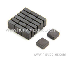 small Permanent neodymium magnet block