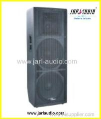 Dual 15 inch profession stage wooden speaker