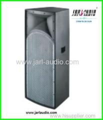 "Dual 15"" Wooden Cabinet Speakers and professional power speaker"