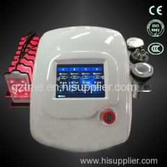 Multifunction 4 in 1 weight loss laser lipo RF lipocavitation machine