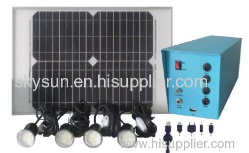 Solar home light .