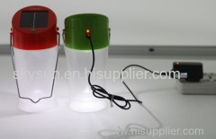 Solar lantern . .