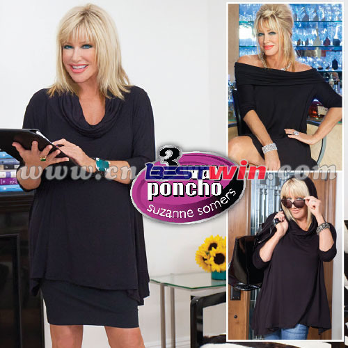 3 way Poncho suzanne somers