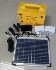 Solar portable home system