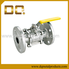 3PC Stainless Steel Flanged End Ball Valve
