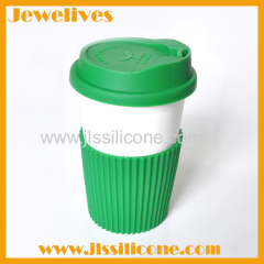 Hot silicone heat insulation lid and cover