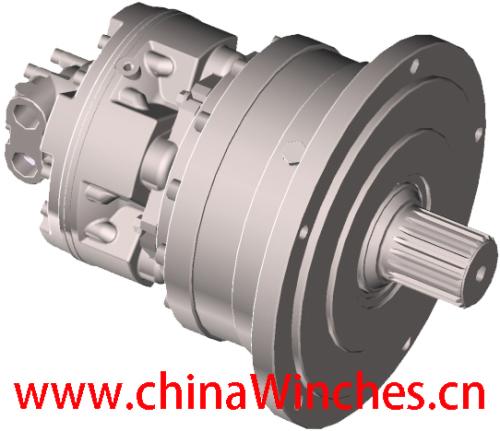 Hydraulic Motor Sai Gm Gearbox Gm1 R13 Gm2 R24 Gm3 24