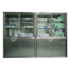inside wall mounting type stainless steel cabinets for surgical rooms