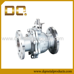 Q41 Stainless Steel Flanged Ball Valve
