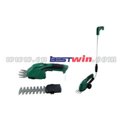 Cordless shear shrubber 2 in 1 Hedge trimmer grass trimmer