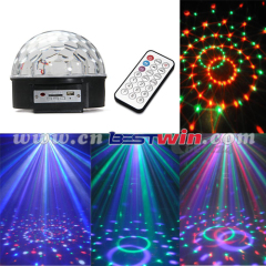 Digital RGB LED Crystal Magic Ball USB