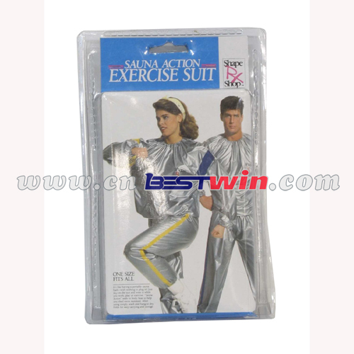 Sauna PVC Suit as seen on tv