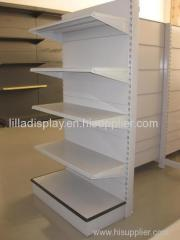 display shelf with white colour