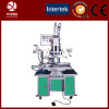 Conical hot foil stamping machine for cone product