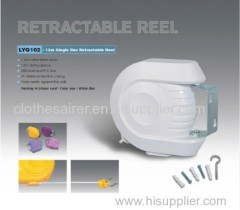 wall mounted retractable washing line