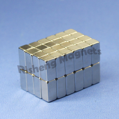 High Magnetic Performance N46SH heat-proof Medium Neodymium Block Magnet for Louldspeakers 18 x 10 x 5mm
