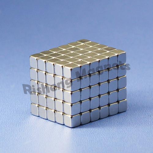 motor magnetic Sintered Neodymium Block Magnets 18x15x10mm rare earth magnet N45H 120°c working temp