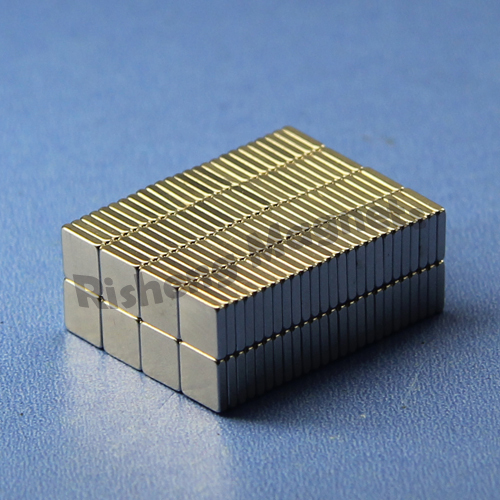 rare earth magnets n35 magnetic blocks 20 x 3.5 x 16mm super magnet ni-cu-ni coating