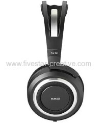 AKG K540 Semi-Open Hi-Fi Around-Ear Headband Headphones Black