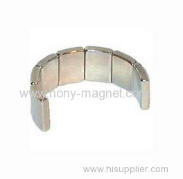 Sintered wind generator permanent magnet