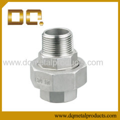 Stainless Steel Threaded Connection Fittings Series Male/Female Threaded Union