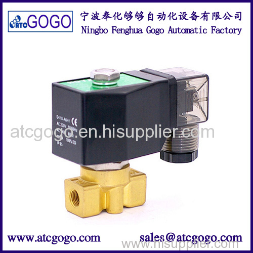 0-90 bars high pressure solenoid valves