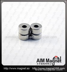 Strong permanent ring ndfeb magnets