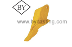 Earthmoving replacement parts spare parts casting corner tooth /side cutter for JCB 53103208