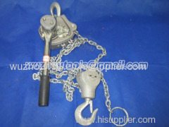 Ratchet Chain hoist lift puller 1.5 Ton Lever Block