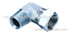 90°NPT male/JIC female 74° seat tube Fittings 2NJ9