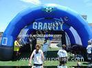 Custom PVC Commercial Inflatable Sports Games / Inflatable Football Game With Powerful Blower