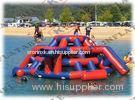 Adult Funny Inflatable Water Game Crazy For Amusement Park Equipment