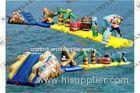 0.9mm Pvc Tarpaulin Waterroof Inflatable Water Parks / Backyard Inflatable Water Park
