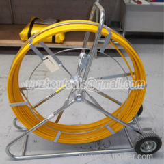 Flexible duct rodder Fiberglass pipe sewer dredge duct rodder