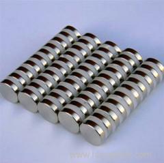 Sintered neodymium ndfeb magnet round