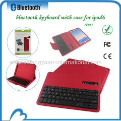 Mini keyboard bluetooth Rohs with case for ipad 6
