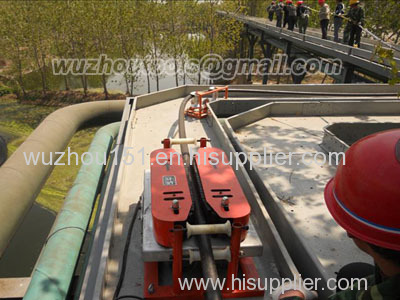 Cable Laying Equipment/strong thrust force for traction power cable