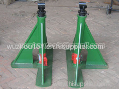 Cable Drum Lifting Jacks Ground-Cable Laying Made Of Steel