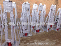Hydraulic Reel Stands with trapezoidal structure