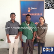 Sri Lanka clients visit to our company