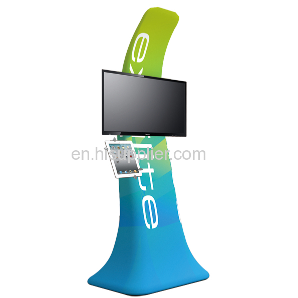 Portable Tv Exhibition Stand : Monitor mount trade show exhibition stand d