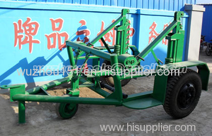 cable reel trailer cable drum table Cable Conductor Drum Carrier
