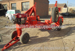 cable drum table reel trailer
